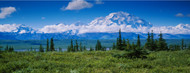 Standard Photo Board: Clouds Over Mountains Denali National Park - AMER