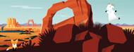 Standard Photo Board: Salesforce Backdrop Desert 3 - AMER