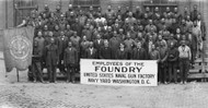 African American Employees of The Foundry United States Naval Gun Factory 1918