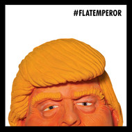 GINGER FLAT EMPEROR 2017 / 12 inch #FLATEMPEROR ART SHOW WALL GRAPHIC + MINI WALL GRAPHIC SETS