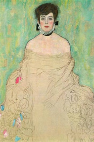 Portrait of Amalie Zuckerkandl by Gustav Klimt