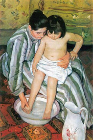 Bath by Mary Cassatt