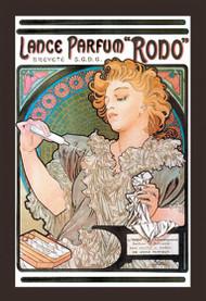 Lance Parfum Rodo (1896) by Alphonse Mucha