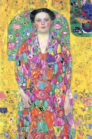 Portrait of Eugenia Primavesi by Gustav Klimt