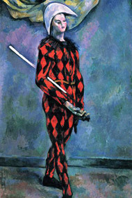 Harlequin by Cezanne