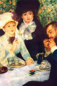 The End Of The Breakfast by Renoir