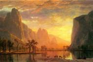 Valley in Yosemite