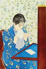 Letter #1 by Mary Cassatt