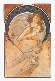 The Arts: Painting by Alphonse Mucha