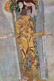 Beethoven Frieze 2 by Gustav Klimt