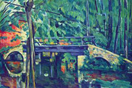 Bridge in the Forest by Cezanne