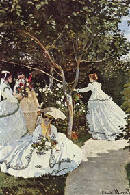 Women in the Garden by Claude Monet