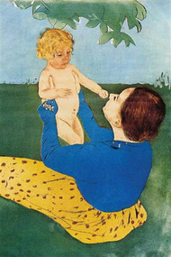 Under the Tree by Mary Cassatt