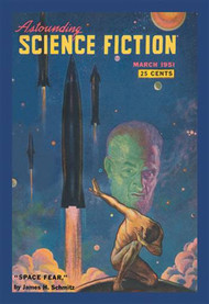 Astounding Science Fiction Space Fear