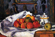 Still Life Bowl of Apples by Paul Cezanne