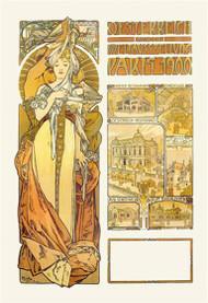 Austria: 1900 by Alphonse Mucha
