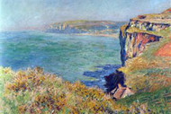 Cliffs at Varengeville by Claude Monet
