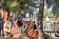 La Grenouillere by Auguste Renoir