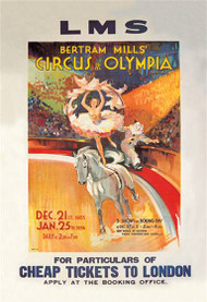Bertram Mills Circus at Olympia