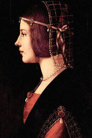 Lady Beatrice d'Este by Da Vinci