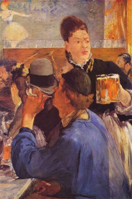 Beer Waitress by Manet