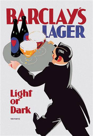Barclay's Lager Light or Dark
