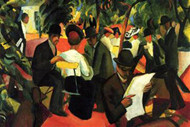 Garden Restaurant by Macke