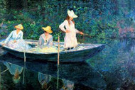 Women Fishing by Claude Monet