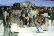 Consecration of Bacchus by Alma-Tadema