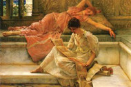 Favorite Poet by Alma-Tadema