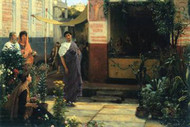 Flower Market by Alma-Tadema