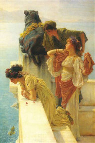 Good Vantage Point by Alma-Tadema