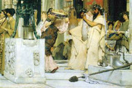Grape Harvest Festival by Alma-Tadema