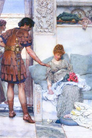 Quiet Greeting by Alma-Tadema