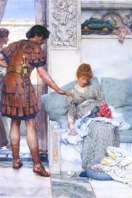 Quiet Greeting by Alma-Tadema