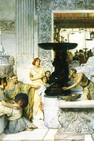 Sculpture Gallery by Alma-Tadema
