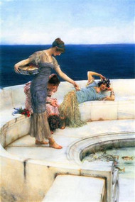 Silver Favorites by Alma-Tadema