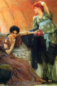 Unconscious Rivals by Alma-Tadema