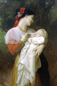 Maternal Admiration by Bouguereau