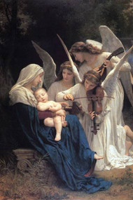 Song of the Angels by Bouguereau