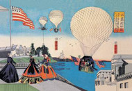 American Hot Air Balloons Take Flight