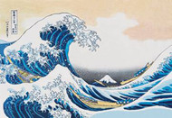 Great Wave of Kanagawa by Hokusai