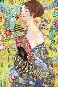 Lady with a Fan by Klimt