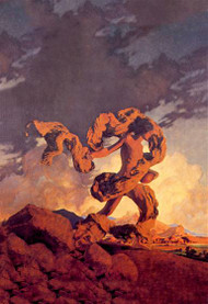 Cadmus Sowing the Dragon's Teeth by Maxfield Parrish