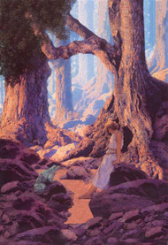 Enchanted Prince by Maxfield Parrish