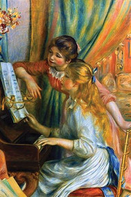 Girls at the Piano by Auguste Renoir