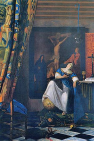 Allegory of Faith by Vermeer