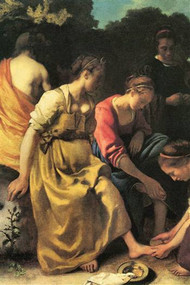 Diana And Her Nymphs by Vermeer