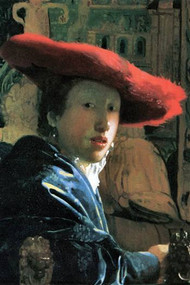 Girl With Red Hat by Vermeer