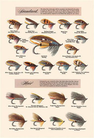 Fly-Fishing Lures: Standard and Hair